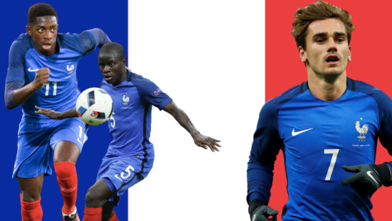 The Latest 24-Man France Squad Will Destroy Everybody At The 2018 World Cup