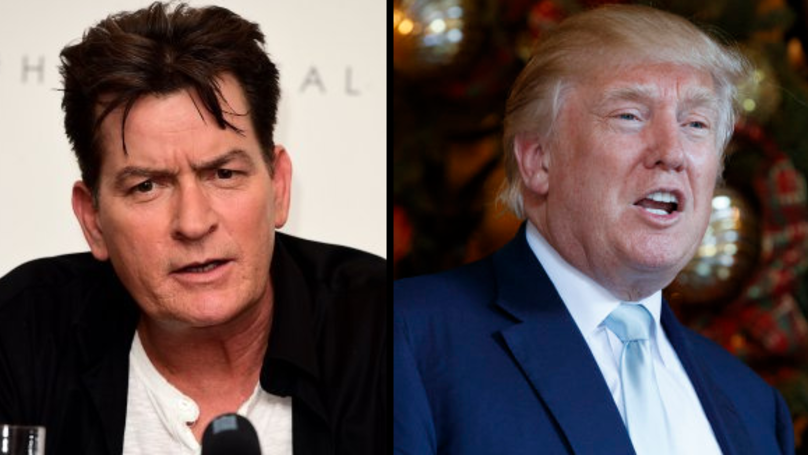 Charlie Sheen Refuses To Apologise For His Savage Trump Tweet