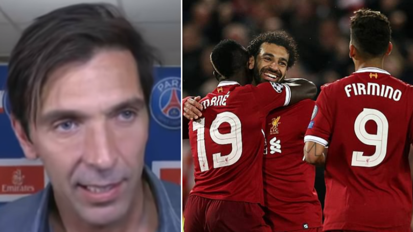 What Gianluigi Buffon Has Said About Liverpool's Front Three