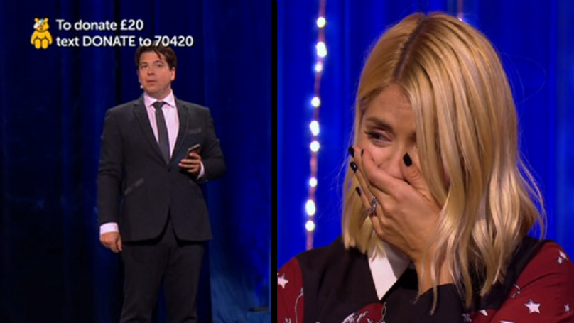 Michael McIntyre Sends Prank Text To Holly Willoughby's Kids' Headmaster