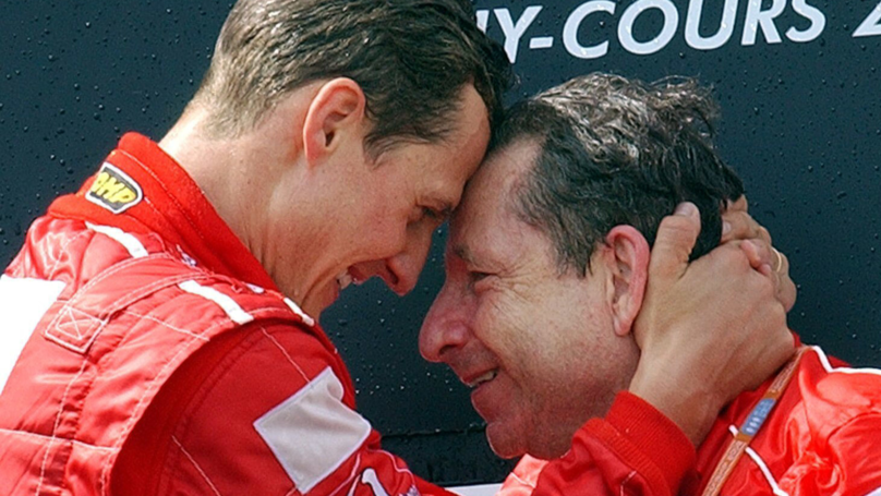 Former Ferrari Boss Says Michael Schumacher 'Keeps Fighting' And Watches Formula 1