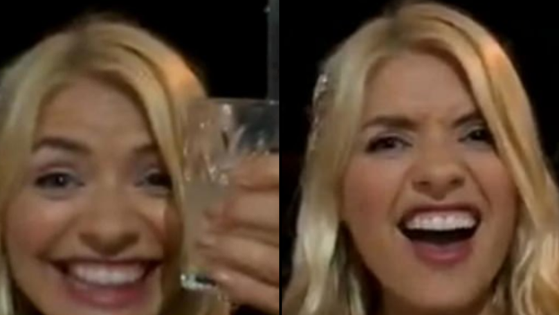 Holly Willoughby Rings Phillip Schofield While Drunk At I'm A Celeb Party
