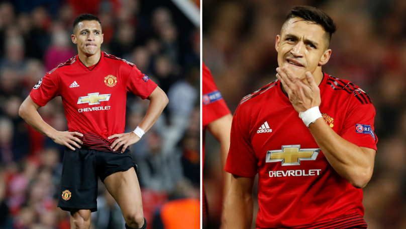 Alexis Sanchez Had An Absolute 'Disasterclass' After Coming On Against Paris Saint-Germain