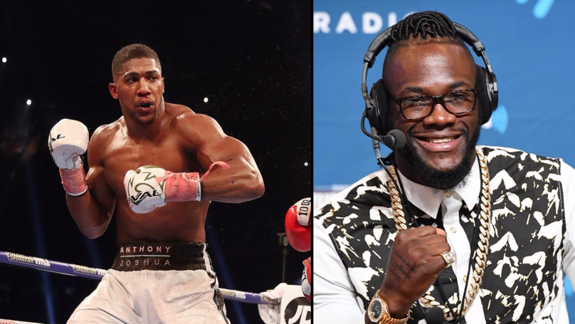 Anthony Joshua Says The Deontay Wilder Fight 'Has To Happen'
