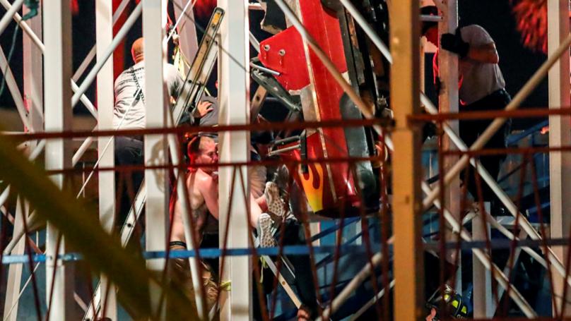 Riders Plummet 34Ft To Floor As Roller Coaster Derails