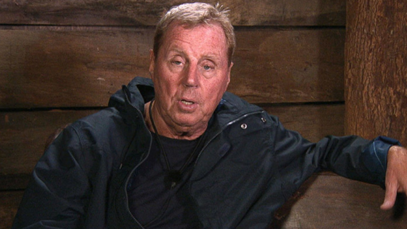'​I'm A Celebrity Viewers' Spot Harry Redknapp's Hilarious Secret Message