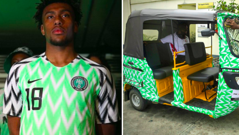 c029c54d322 Nigeria's Kit Design Is That Good People Are Using It On Their Vehicles