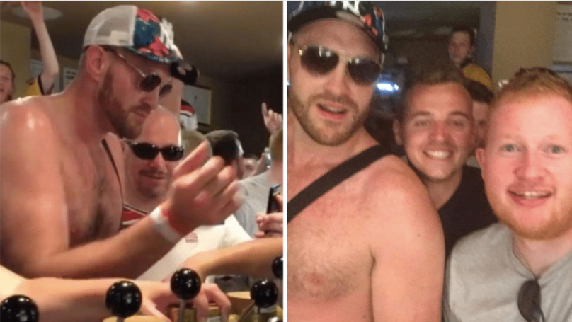 When Tyson Fury Walked Into A Bar And Spent €1,000 On Jägerbombs For Everyone