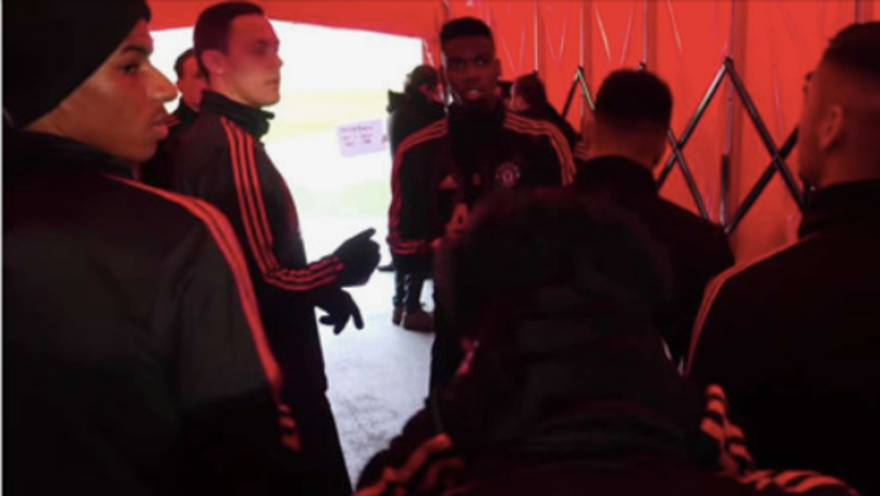 Paul Pogba's Inspirational Team-Talk In The Tunnel Before Huddersfield Win Is Captain Material