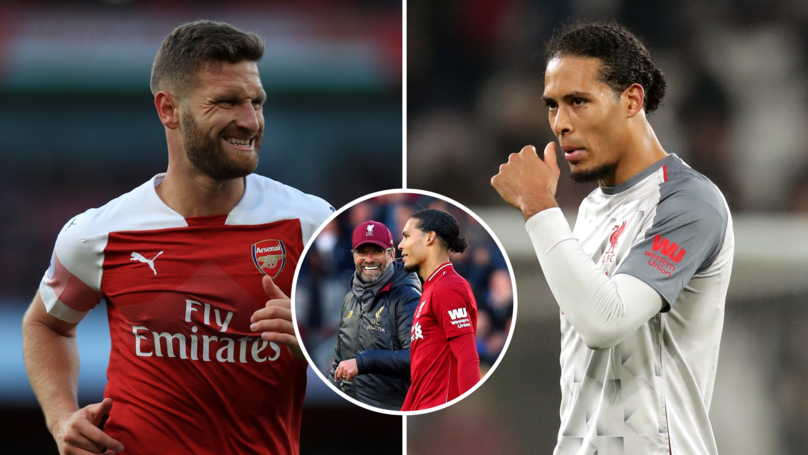 Arsenal Fan 'Proves' That Shkodran Mustafi Is Having A Better Season Than Virgil Van Dijk