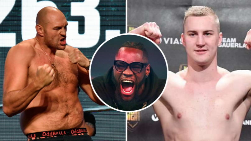 Deontay Wilder Brutally Responds To Tyson Fury Fighting Otto Wallin