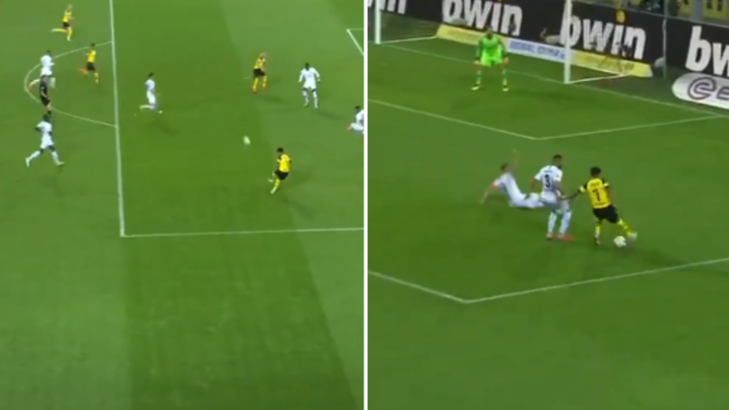 Jadon Sancho Comes Up With Another Important Assist For Borussia Dortmund