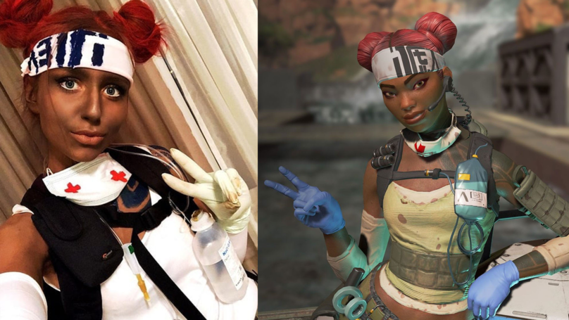 ​Twitch Cosplayer Suspended For Using Blackface In 'Apex Legends' Costume
