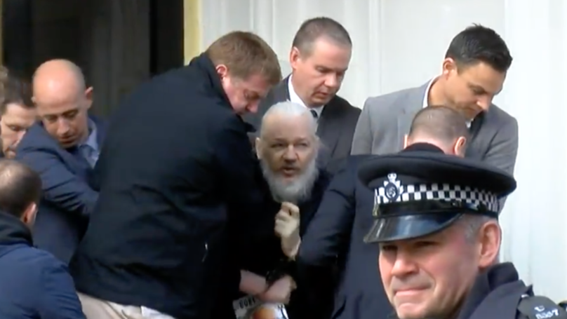 Aussies All Made The Same Joke After Julian Assange Was Booted From Ecuadorian Embassy