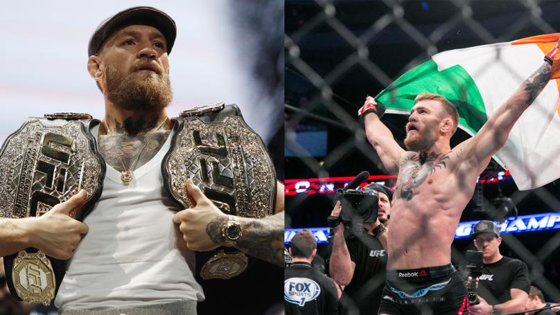 McGregor's UFC retirement odds slashed ahead of Khabib fight