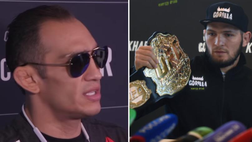 Tony Ferguson Calls Out UFC Champion Khabib Nurmagomedov With A Savage Message