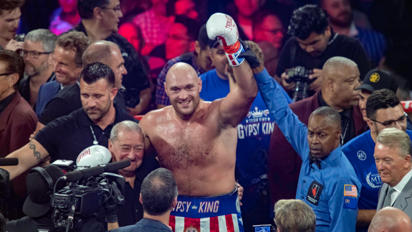 Tyson Fury Takes Swipe At Anthony Joshua After Schwartz Fight