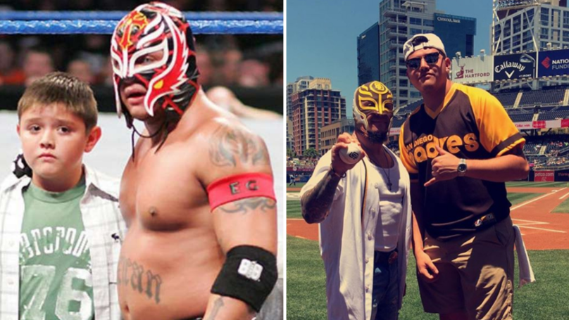 Rey Mysterio Files Trademark That Hints At His Son's Wrestling Name