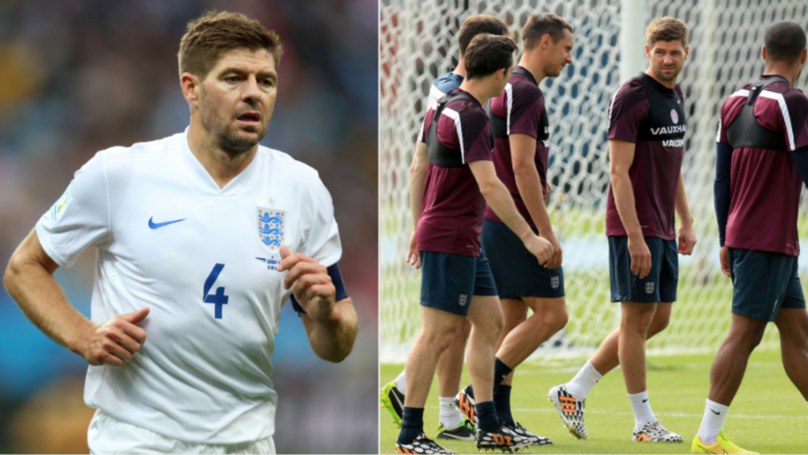 Steven Gerrard Names The Two England Players He 'Pretended' To Like