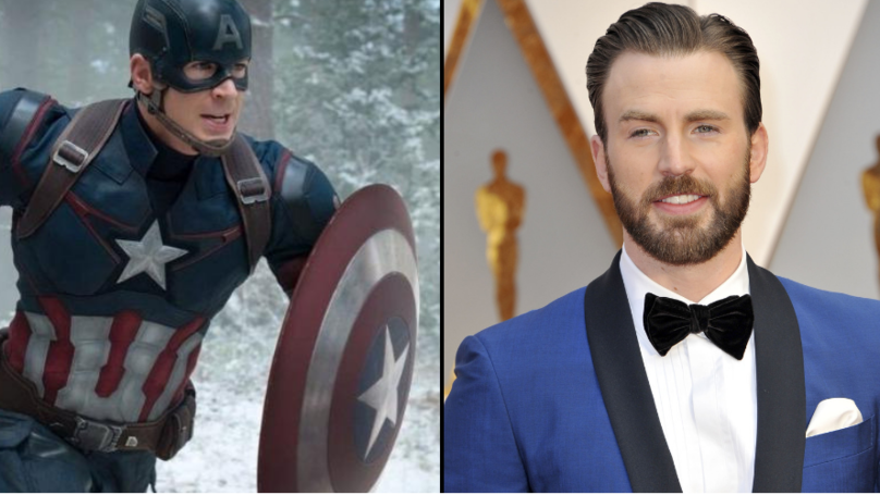 Chris Evans Gives Emotional Goodbye To Captain America After