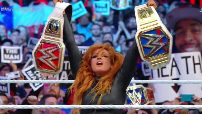 Becky Lynch Wins First Ever All Women's WrestleMania Main Event