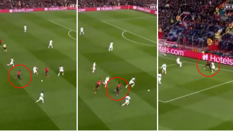Paul Pogba Twice Destroys France Colleague Presnel Kimpembe With Insane Run