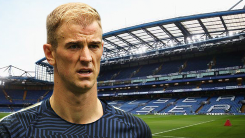 Chelsea Want Manchester City GK Joe Hart To Replace Thibaut Courtois
