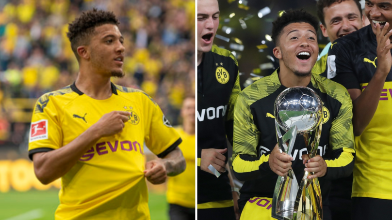 Jadon Sancho's Wages Will Soar To £190,000 Per Week In New Borussia Dortmund Deal