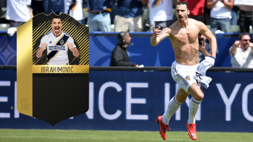 Zlatan Ibrahimovic Gets Special In-Form Card From EA Sports For Stunning LA Galaxy Debut