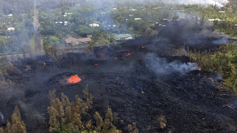 Lava Shoots 300ft In The Air As Hawaii's Volcanic Chaos Continues