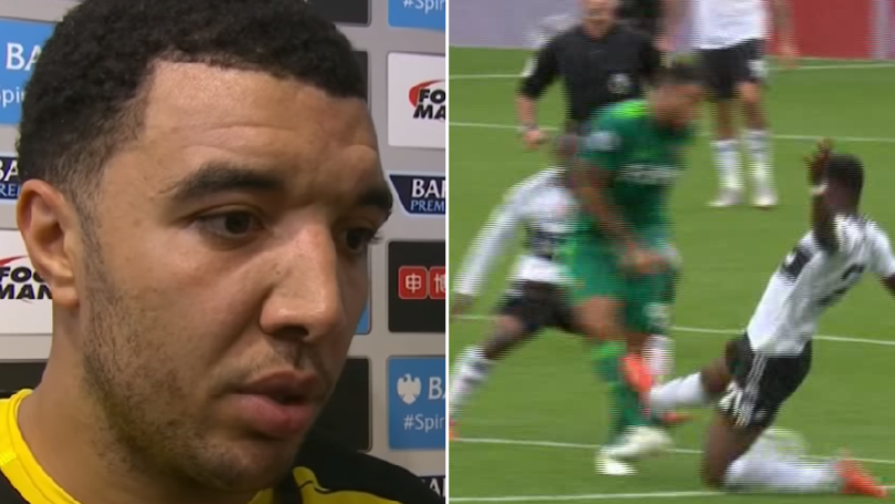 Troy Deeney's Post-Match Interview Is Proof He's Hard As Nails