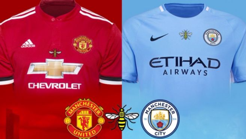 City And United To Wear Manchester Bee Logo In Pre-Season Friendly