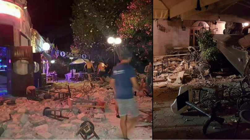 Huge Earthquake Hits Turkish And Greek Holiday Resorts Triggering A Tsunami