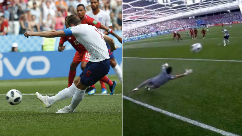 Harry Kane Almost Breaks The Net With Thunderbolt Penalty Against Panama