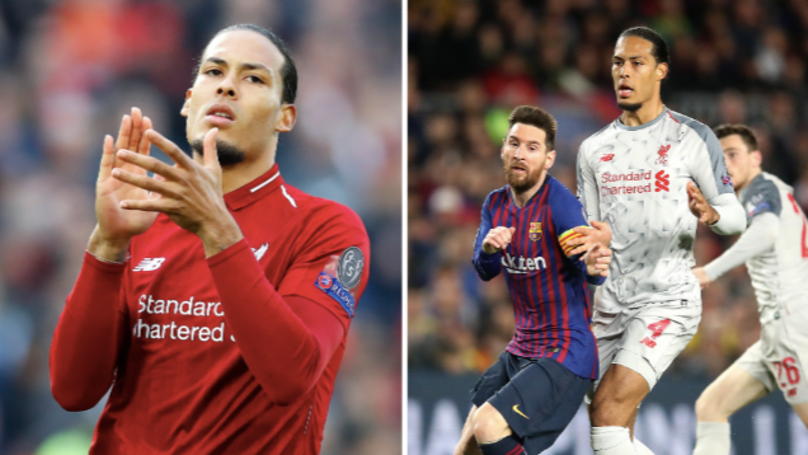Barcelona Make Approach For Virgil Van Dijk But Immediately Get Shut Down