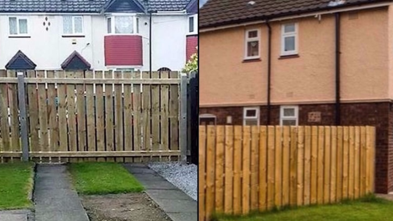 Dad Angry After Council Build Fence Right Across His Driveway