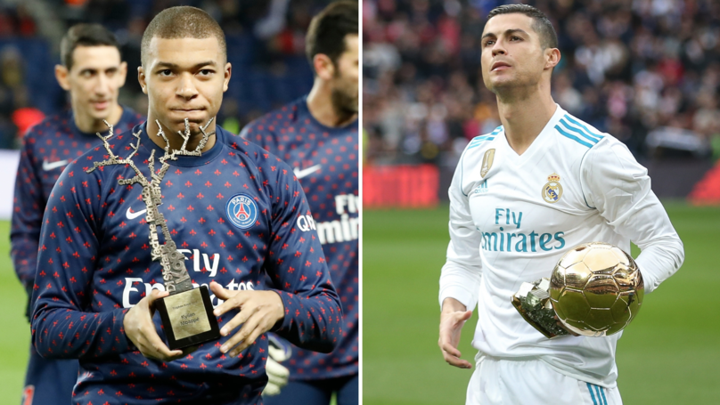 Kylian Mbappé Will Be 'Much Better' Than Cristiano Ronaldo, Win More Ballon d'Ors