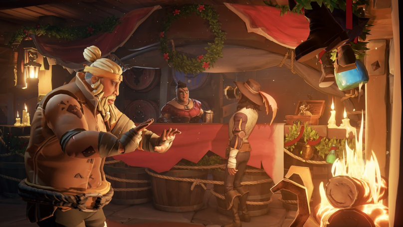 Pirates Get Festive With The 'Sea Of Thieves' Christmas Update
