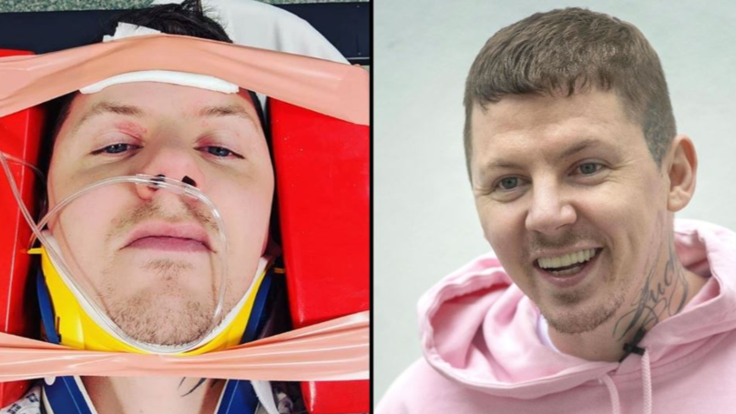 ​Professor Green Hospitalised After Fracturing Neck During Seizure
