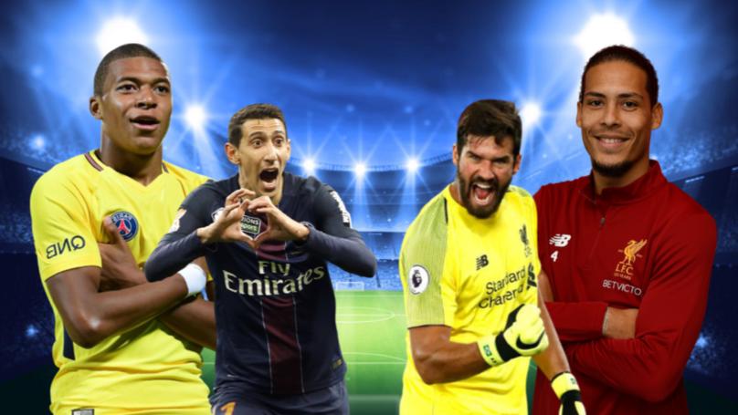 A Combined Liverpool/Paris Saint-Germain XI Based On Fan Votes
