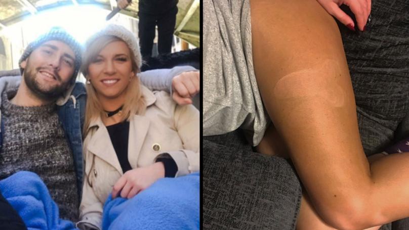 Boyfriend Left Baffled By Penis Outline Left In Girlfriend's Fake Tan