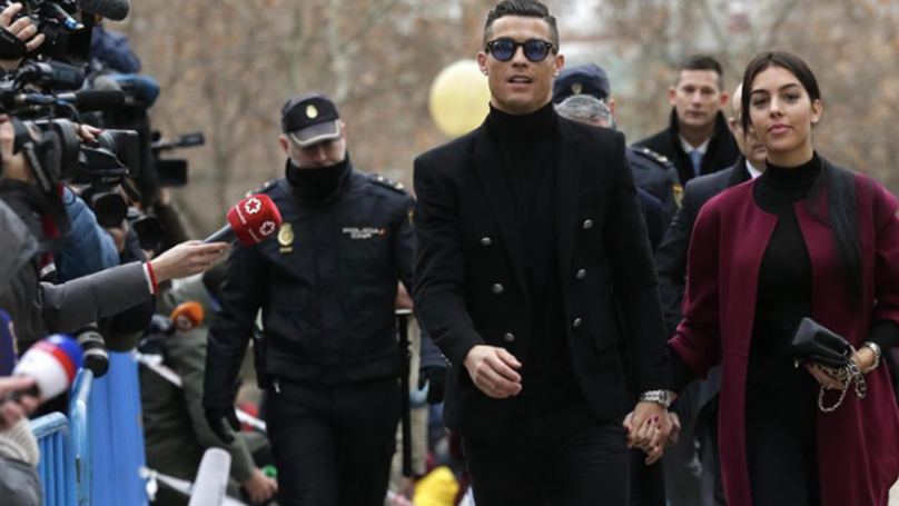 Cristiano Ronaldo Handed Suspended Sentence After Pleading Guilty To Tax Fraud