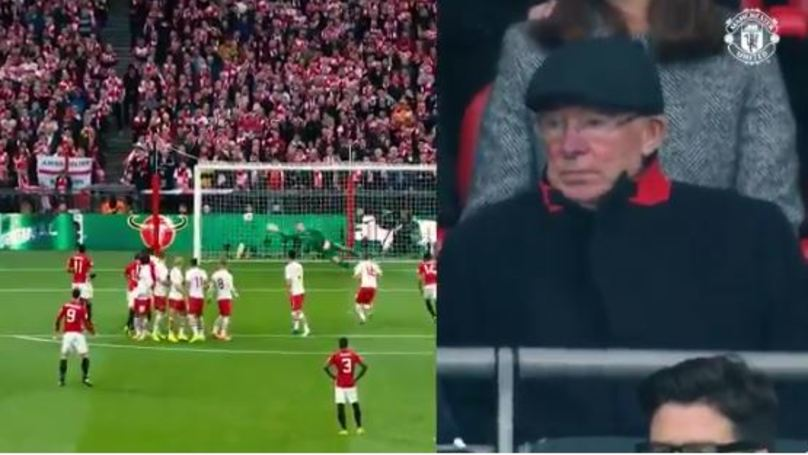 WATCH: Sir Alex Ferguson's Reaction To Zlatan Ibrahimovic's Free-Kick Is Basically Your Grandad