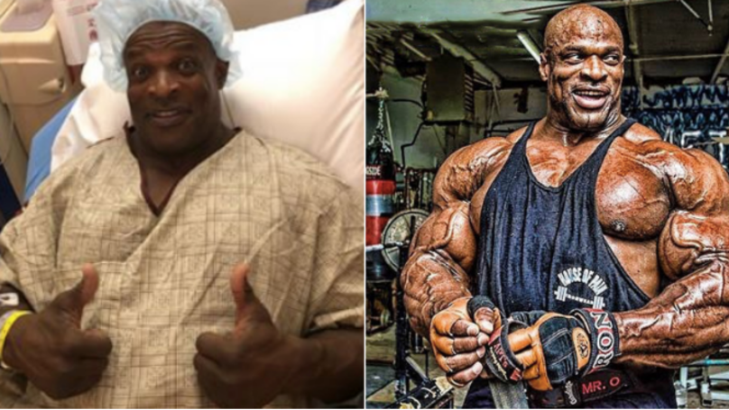 Bodybuilding Legend Ronnie Coleman Back In The Gym After Being Told He Couldn't Walk Again