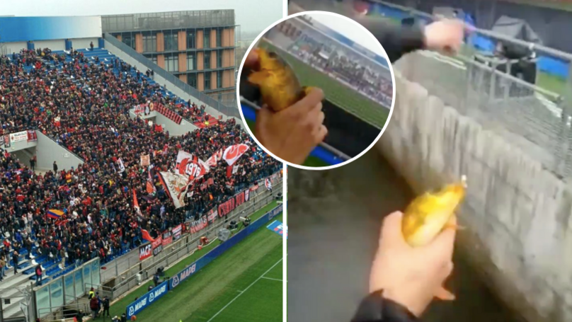 You Can Go Fishing In The Mapei Stadium, Italy, While Watching Football