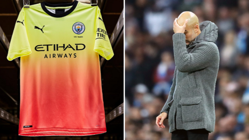 Manchester City Reveal Striking New Third Kit With A Strange 'Explanation'