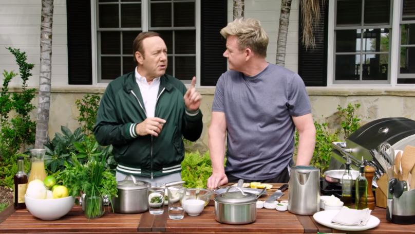 Kevin Spacey Managed To Out-Swear Gordon Ramsay   LADbible