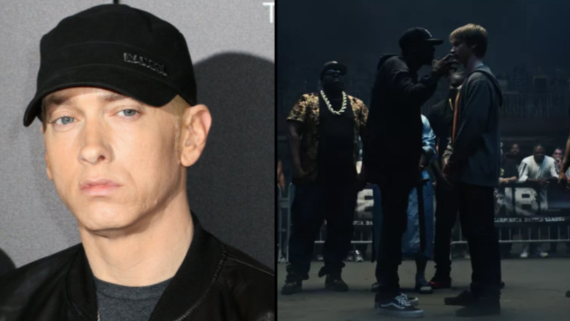 Eminem Buys Out Entire Cinema So Fans Can Watch His New Movie 'Bodied' For Free