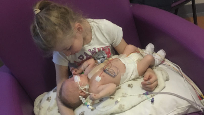 Six-Year-Old Girl Saves Baby Brother's Life By Becoming Bone Marrow Donor