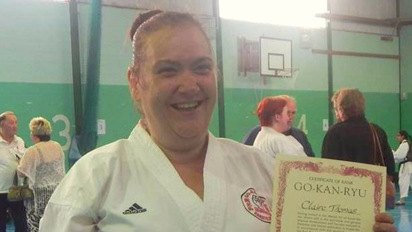 Woman On Disability Benefits For Six Years Wins Gold Medal At Karate Competition